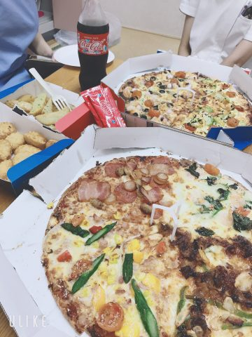 pizzaランチ2
